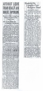 Afloat Less than Half an Hour, Opinion, 9-8-1925